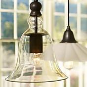 Max 60W Tradicional/Clásico / Cosecha / Cuenco Mini Estilo Lámparas Colgantes Sala de estar / Comedor