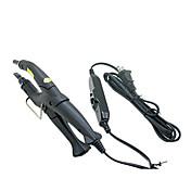 Extensiones de pelo profesional ajustables Hierro Fusión Queratina Conector Heat Vara de Hierro Negro enchufe de EE.UU.