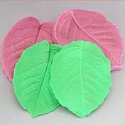 3d hoja de sujeción herramientas de decoración de la torta de la pasta de azúcar de silicona pastel de molde, l8cm * * w6.5cm h1cm