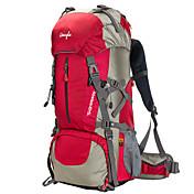 50 L Paquetes de Mochilas de Camping Escalada Acampada y Senderismo Impermeable Resistente a la lluvia Listo para vestir Multifuncional