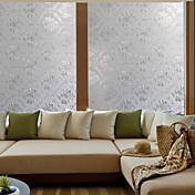 Art Deco Contemporâneo Película para Vidros,PVC/Vinil Material Decoração de janela