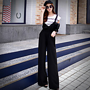 pink dukke kvinders massive chinos bukser, enkel / sofistikerede