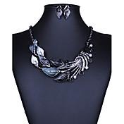 Mujer Juego de Joyas Collar / pendientes Sexy Moda Europeo joyería de disfraz Collares Pendientes Para Boda Fiesta Diario Casual Regalos