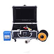 Herramientas de la pesca Impermeable CE / Cañas Portable Encendido / Apagado LED blanca Sin Cable 18650 Plástico duro Negro