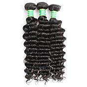 Brasileña del pelo de Remy Extensión Natural Remy Ondulado Medio Extensiones onduladas naturales remy