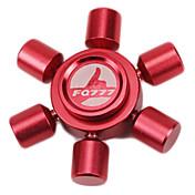 Fidget spinners Hilandero de mano Juguetes Six Spinner Metal EDCAlivio del estrés y la ansiedad Juguetes de oficina Alivia ADD, ADHD,