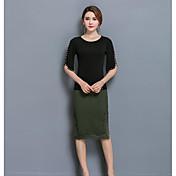 Mujer Sexy Cosecha Ropa de trabajo Casual/Diario Faldas Encaje Verano