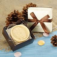 Bain & Savon(Blanc Chocolat)Thème floral-Non personnalisée