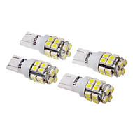 T10 Auto studená bílá SMD 3528 6000-6500 Osvětlení poznávací značky Pásové osvětlení Postranní světlo