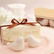 Outils de cuisine(Blanc / Chocolat)Thème de jardin-Non personnalisée 11*5.3*3.5cm Céramique