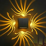 AC 85-265 3W Led Integrado Moderno/Contemporâneo Galvanizar Característica for LED Lâmpada Incluída,Luz Ambiente Luz de parede