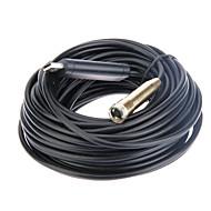 USB impermeável e flexível Microscópio de Inspeção Camera endoscópio endoscópio 15m plugue