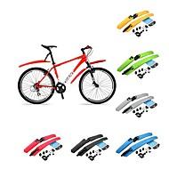 Vélo Garde-boue de vélo Cyclisme/Vélo Jaune Vert Rouge Gris Noir Bleu Plastique