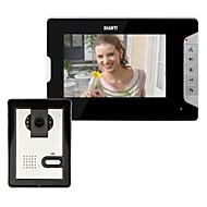 7 polegadas Vídeo porta telefone campainha Intercom Kit 1-1-monitor da câmera de visão noturna