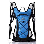 Pyörälaukku 15LNesteytyspakkaus ja -laukku / Retkeilyrinkat Nopea kuivuminen / Kestävä / Hengittävä Pyörälaukku 420D Nailon Pyöräilylaukku