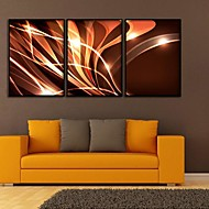 Fantasie Ingelijst canvas / Ingelijste set Wall Art,PVC Zwart Zonder passepartout met Frame Wall Art