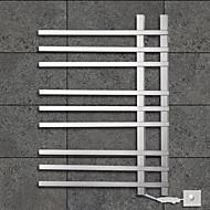 90ワットタオルウォーマーは304#ステンレス鋼鏡面研磨乾燥ラックウォールマウント