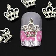 10kpl 3d diy strassit kruunu sormenpäät metalliseos kynsikoristeet koriste