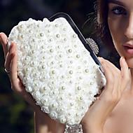 Dames Satijn Bruiloft Avondtasje Kristal