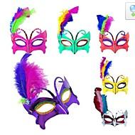 flash de material plástico festa a fantasia máscara de halloween (cor aleatória)