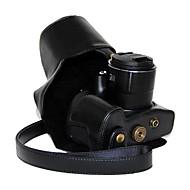 dengpin® במקרה מגן מצלמת עור pu עור רטרו שמן עם יציאת טעינה עבור hs SX60 PowerShot Canon