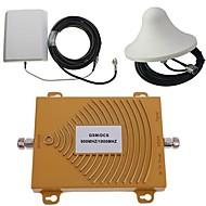 GSM / DCS 900 / 1800MHz double bande signal de téléphone mobile kit d'antenne amplificateur de puissance