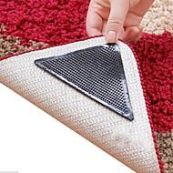 8 kpl hämmästyttävä uudelleenkäytettävä pestävä kolmio luistamaton skid matto tarraimet matto matto tarroja