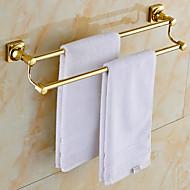 Kullattu Brass Kylpyhuone Pyyheteline