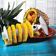 rozsdamentes acél gyümölcs ananász hámozó szeletelő