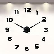 """Moderno/Contemporâneo Outros Relógio de parede,Outros Metal 18.5 x 18.5 x 6(7.28"""" x 7.28""""x 2.36"""") Interior Relógio"""