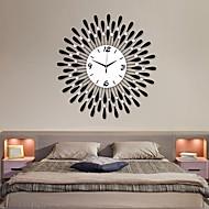24 «horloge moderne mur de fer de modèle de l'eau-de chute