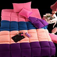 yuxin®spring peitto ydin neljä loitsu väri paksu super pehmeä sulka sametti talvi peitto kuningas / kuningatar / koossa