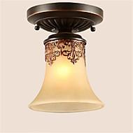 Vestavná montáž ,  Tradiční klasika Venkovský styl Retro Lucerna Země Bronzová vlastnost for LED KovObývací pokoj Ložnice Jídelna Kuchyň