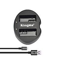 kingma® διπλή υποδοχή USB φορτιστή μπαταρίας για Canon LP-E8 μπαταριών για EOS 550D 600D 700D φωτογραφική μηχανή 650d