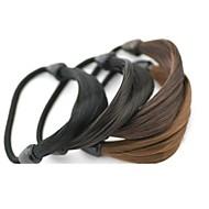 3pc / erä elastinen hiukset köysi naisten pääpanta hiustarvikkeet hihna poninhäntä haltija peruukki köyden hiukset punottu tonytail