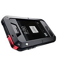 metal é três seguintes à prova de água, prevenção de poeira apoio iphone5s / 5
