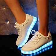Damen Komfort Leuchtende LED-Schuhe Kunststoff Frühling Sommer Herbst Winter Sportlich Normal Party & FestivitätKomfort Leuchtende