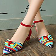 Women's Shoes Heel Heels / Heels Outdoor / Dress / Casual Black / Blue / Red/C-12