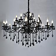 Lustres ,  Contemprâneo Tradicional/Clássico Rústico/Campestre Vintage Retro Lanterna Rústico Esfera Pintura Característica for Cristal