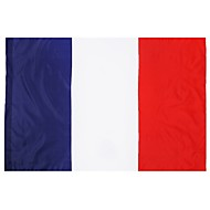 Ranska flag 3ft x 5ft 100% polyester french lippuja ja banderolleja ulkona sisätiloissa 150x90cm juhlaan iso lippu