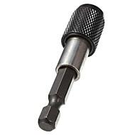 """1/4 """"shank hex furadeira elétrica Holder Suporte 60 milímetros pouco liberação rápida bit chave de fenda magnética"""