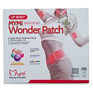 novo patch tratamento 1set remendo maravilha parte superior do corpo quente para a cara braço emagrecimento dissolver paster queima de