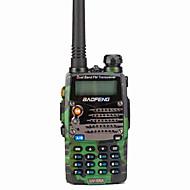 Baofeng Håndholdt Digital UV-5RA FM-radio Stemmekommando Dual-band Dobbelt Display Dobbelt standby LCD-skærm CTCSS/CDCSS 1,5-3 km