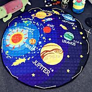 """strars leker oppbevaringspose teppe kids spill matter diameter 59 """"baby krypmultifunksjonelle runde teppe spill rug"""