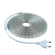 6W Fleksible LED-lysstriber 20 lm Vekselstrøm 220-240 V 5 m 300 leds Varm Hvid Hvid Rød Blå Grøn