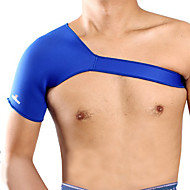 Shoulder Brace Sports Support Breathable / Lightweight / Stretchy / Protective Badminton / Beach / Cycling/Bike Blue