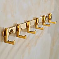 Vaatekoukku / Kylpyhuoneen laitteet / Vihreä / Seinään asennettu /40cm*3.5cm*4.5cm(15.7*1.4*1.8inch) /Messinki / Sinkkiseos /Uusklassinen
