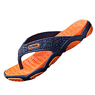 Γυναικεία παπούτσια-Παντόφλες & flip-flops-Καθημερινά-Επίπεδο Τακούνι-Σαγιονάρες-PU-Πράσινο / Γκρι / Πορτοκαλί / Μαύρο και Κόκκινο