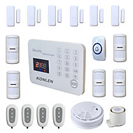 433MHz SMS Telefon 433MHz GSM telefon Alarm SMS Alarm Sound Alarm Lokal Alarm E-postalarm Hjem alarmsystemer