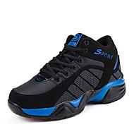 Feminino / Masculino-Tênis-Conforto-Rasteiro-Azul / Vermelho-Camursa Sintética-Para Esporte